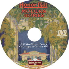 Sears Honor Bilt Modern House & Home { 1908-1940 Floor Plans & Designs } on DVD