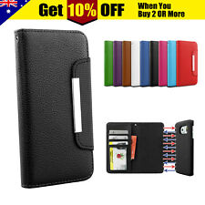 Flip Leather Magnetic WALLET Case Cover for Samsung Galaxy S8 8+ Plus S7 EDGE S5