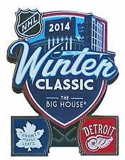 Official NHL 2014 Winter Classic Pin Toronto Maple Leafs vs Detroit Red Wings