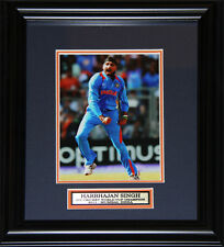 Harbhajan Singh NCL Team India Cricket 5x7 Sports Collector Frame