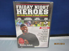 FRIDAY NIGHT HEROES VOL1 Dvd High School Phenoms to Superstars New, Sealed NBO