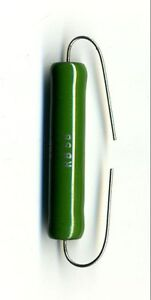 Lot Of 2 Resistors 10 Kohm - 11 Watts - Coils Vitrifies Brand SETA