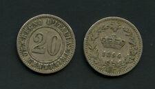 1894 - LOTTO/M16109 - 20 CENTESIMI CORONA