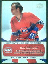 GUY LAFLEUR 08/09 MONTREAL CANADIENS CENTENNIAL RECORD HOLDERS  SP