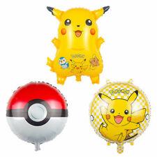 Pokemon foil balloon pikachu pokeball set pokemon go squirtle charmander