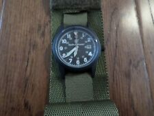 SMITH & WESSON MILITARY WATCH WITH COMMANDO WATCH BAND OD GREEN