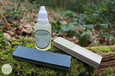 Multi-Tool Knife Maintenance Kit - Double Grit Sharpening Stone / Knife Oil EDC