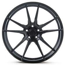 "19"" Rohana RF2 Matte Black Concave Wheels for Audi"