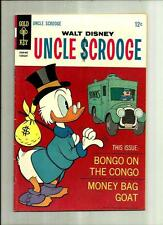 UNCLE SCROOGE #73  1968 GOLD KEY COMIC BOOK SILVER AGE DONALD DUCK  BARKS