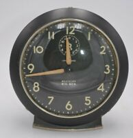 "Vintage 1945 Westclox Big Ben w/ Loud Alarm Black 5 1/2"" Not Working"