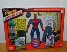 MARVEL SPIDER-MAN ADVENTURE HERO EXTREME SPORTS ACTION FIGURE SET SKATEBOARD