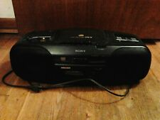 Sony CD Player, AM/FM Radio, Cassette Player, Model CFD-17