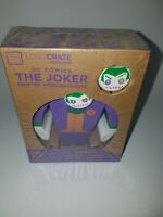 Dc Comics The Joker Painted Wooden Figure Loot Crate Exclusive New Lootcrate