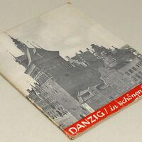 German Danzig Photo Book 1930s w/40 b&w pictures Gdansk Poland Pomerania Pommern