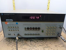 HP 8901A modulation analyzer hewlett packard 150kHz-1300MHz AM FM [0-Z.1]