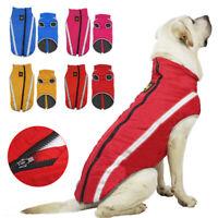 Waterproof Warm Winter Dog Coat Clothes Dog Puppy Padded Vest Pet Jacket XL-6XL