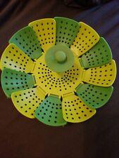 Joseph Joseph 40021 Lotus Folding Non-Scratch Steamer Basket NWOB