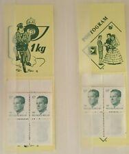 Belgique, België, 2 Carnets de timbres neufs MNH, bien