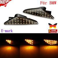 1 PAAR LED SEITENBLINKER BLINKER SMOKE SCHWARZ For BMW X3 F25 X5 E70 X6 SB20