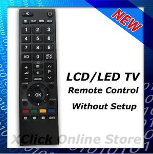 LCD LED TV Remote- Compatible for TV Toshiba