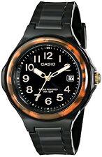 Casio LX-S700H-1 Solar Powered Womens Watch 100M WR Black Resin Date LX-S700