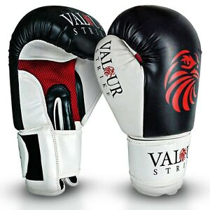 Boxing Gloves Fight MMA Punch Sparring Training Pro Kickboxing Bag Muay Thai