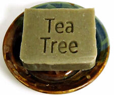 Dead Sea Mud Shampoo Bar with Tea Tree and Neem by Aquarian Bath - vegan formula