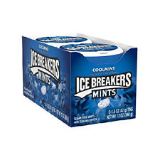 New listing Ice Breakers Sugar Free Mints, Coolmint, 1.5 Ounce (Pack of 8) Pack 8