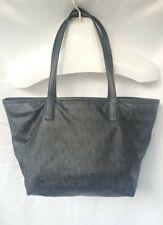Michael Kors Jet Set MK Signature Shoulder Bag, Large - Black