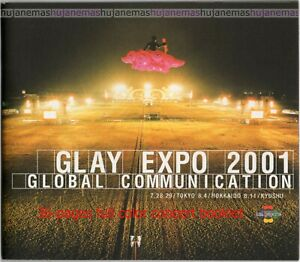 GLAY (Japanese Rock Band) Expo 2001 Live In Hokkaido SPECIAL EDITION 5-VIDEO CD