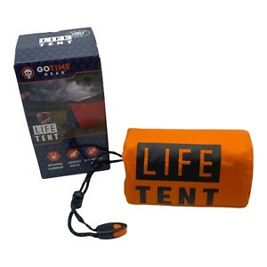 Emergency Tent,  Life Survival Shelter Go Time Gear  – 2 Person Emergency Tent
