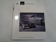 Apple LaserWriter Reference Guide 1989 Apple Mac Computer Vintage