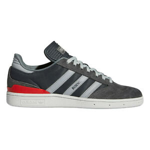 adidas Originals Busenitz Shoes in Grey and Red