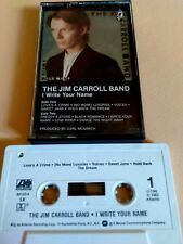 JIM CAROLL BAND - I Write Your Name orig Cassette 1983 new wave PUNK Poetry