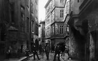 Jewish Ghetto In Prague 1900s OLD PHOTO