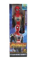 Spider-Man Iron Spider Figure Avengers Marvel Hasbro Titan Hero Series 12 Inches