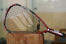 Ektelon EXO3 TORON 170 RACQUETBALL RACQUET 3 5/8 SS,  Red Black,