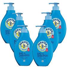 (14,58€/L) 6x 400ml Penaten Baby Bad & Shampoo Parfümfrei Pflege keine Tränen