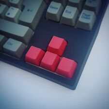 Red Blank Arrow Keys Cherry MX PBT Keycap Mechanical Keyboard Keycaps Set