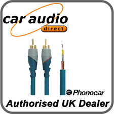 Phonocar 4/262 Double Shielded 2m RCA Audio Leads