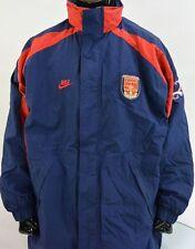 GUNNERS NIKE Arsenal FC 1990's Football Bench Jacket Winter Men's SIZE XXL 2XL