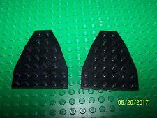 Lego 6x7 Wedge Qty 2 (50303) - Black