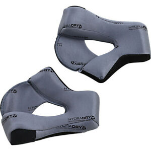 Icon Cheek Pads for Airflite Helmet (Gray) Choose Size