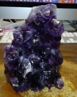 LARGE AMETHYST CRYSTAL CLUSTER  GEODE FROM URUGUAY, CATHEDRAL