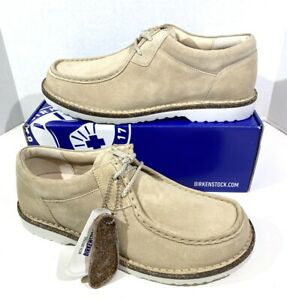 Birkenstock Pasadena II Men's Size 9 (EU42)Reg Fit Sand Suede Leather Shoes