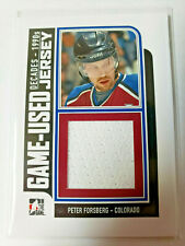 Peter Forsberg GAme-Used Jersey 2013 ITG Decades The 90s