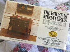 NOS! Rare!THE HOUSE OF MINIATURES CHIPPENDALE Lowboy Table/Dresser SEALED #40024