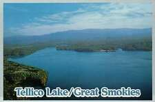 Tellico Lake in Great Smoky Mountains National Park, Tennessee, TN --- Postcard