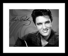 Elvis Presley Signed 8x10 Photo Print Guitar The King Autographed