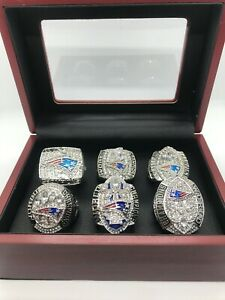 6 Patriots Tom Brady Rings New England Patriots Super Bowl Championship Ring